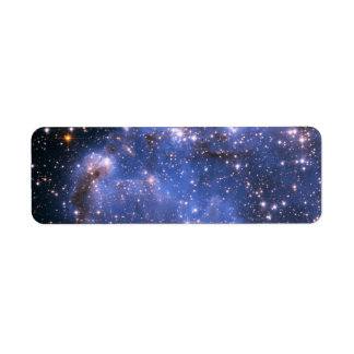 Small Magellanic Cloud Return Address Label