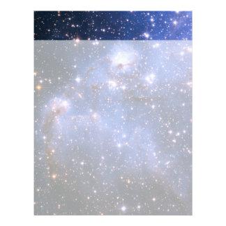 Small Magellanic Cloud Letterhead Template