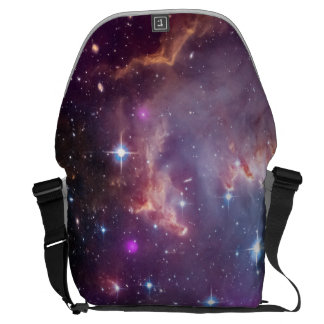Small Magellanic Cloud Messenger Bag
