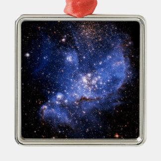 Small Magellanic Cloud Metal Ornament