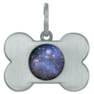 Small Magellanic Cloud Pet Name Tag