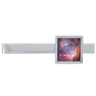 Small Magellanic Cloud Silver Finish Tie Bar