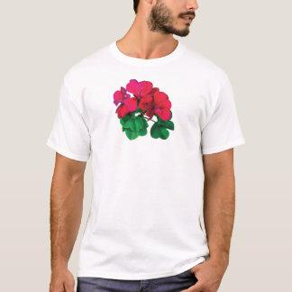 Small Magenta Geraniums T-Shirt