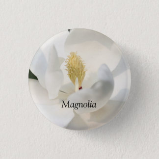 Small Magnolia Button