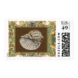 Small Mermaid's Shells Postage