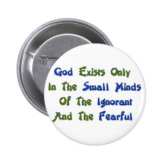 Small Minds Pinback Button