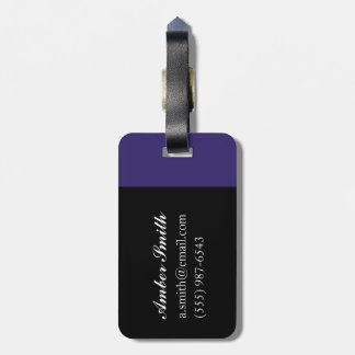 Small Mirror Twin with Figure Bag Tag
