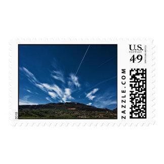 Small mountain postage