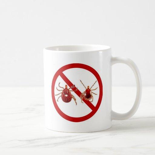 Small Mug, Lyme Disease Tick (Choose Style, Color) Classic White Coffee Mug