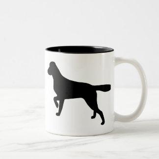 Small Munsterlander Two-Tone Coffee Mug