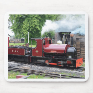 Small Narrow Gauge Locomotive Mouse Pad