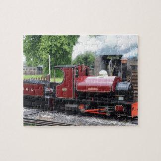 Small Narrow Gauge Locomotive Jigsaw Puzzle