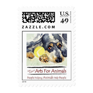 Small New England Arts For Animals Postage