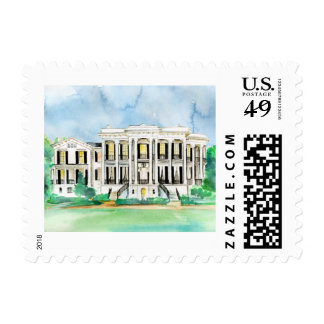 Small Nottoway Plantation Stamp