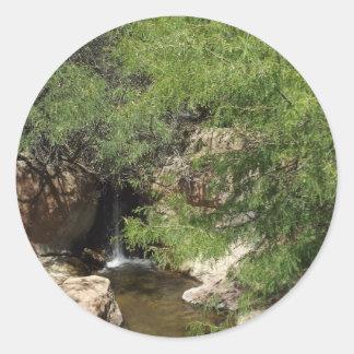 Small Oasis Classic Round Sticker