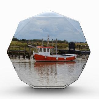 Small Orange Fishing Boat Award