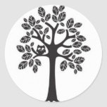 Small Owl in a Big Tree Stickers