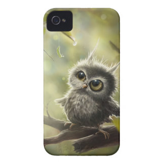 Small owl/Little Owl iPhone 4 Case-Mate Case