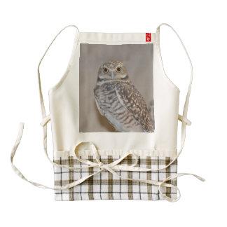 Small Owl Zazzle HEART Apron