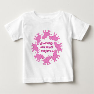 Small Pachyderms Baby T-Shirt