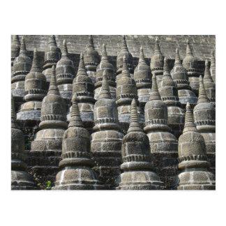 Small Pagodas Postcard