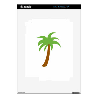 SMALL PALM TREE DECALS FOR THE iPad 2