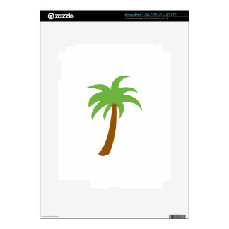 SMALL PALM TREE DECALS FOR iPad 3