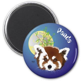 Small panda (Ailurus fulgens) magnet