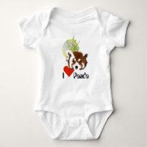 Small panda (Ailurus fulgens) - shirt