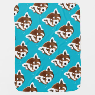 Small panda baby cover stroller blankets