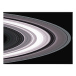 Small Particles in Saturn�s Rings Photo Print