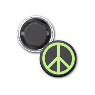 Small Peace Magnet (Green)