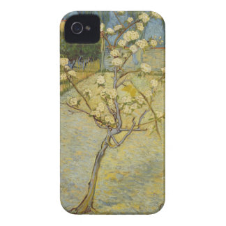 Small pear tree in blossom Barely There™ iPhone 4 Case-Mate iPhone 4 Case