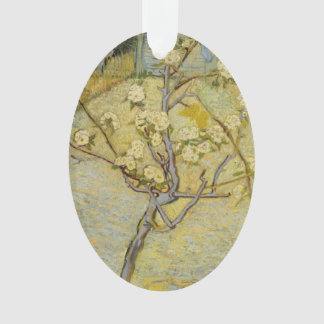 Small Pear Tree in Blossom by Vincent Van Gogh Ornament