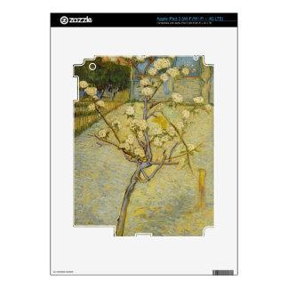 Small pear tree in blossom iPad 3 Skin
