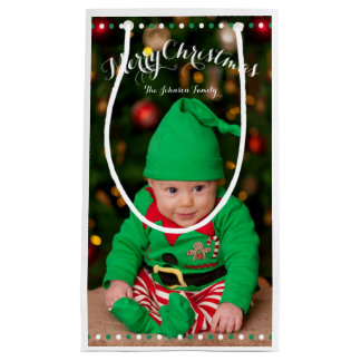 Small Personalized Christmas Gift Bags Small Gift Bag