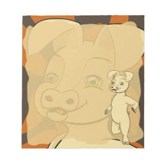 Small Philip Pig Notepad