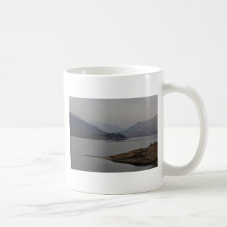 Small piece of land projecting in a Loch Classic White Coffee Mug