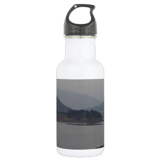 Small piece of land projecting in a Loch Water Bottle