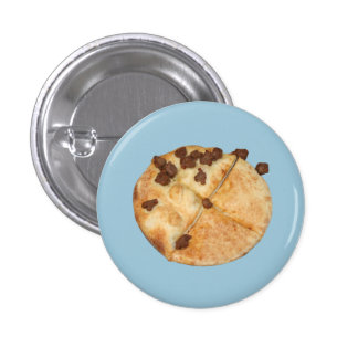 Small Pin- None Pizza With Left Beef Button
