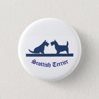 Small Pin with Scottish Terriers