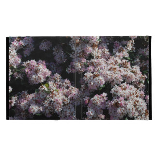 Small Pink and White Flowers iPad Cases
