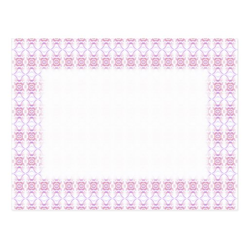 Small Pink Flower Pattern. Postcard