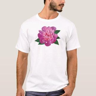Small Pink Peony Mens T-Shirt