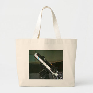 Small Planetarium Telescope Large Tote Bag