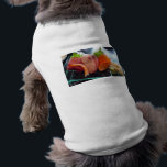 """Small Plate Shrimp Tuna Sushi Gifts Tees Cards Etc<br><div class=""""desc"""">You are viewing a high quality fine art small plate of shrimp, tuna and a few other types of sushi on a tee, mug, card, gift or other collectible from Rick London Designs &amp; Shoeshies; manufactured by U.S. Keds. Shoeshies is the original sushi shoe store. If you love sushi like...</div>"""