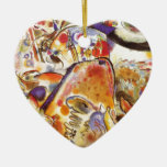Small Pleasures Double-Sided Heart Ceramic Christmas Ornament