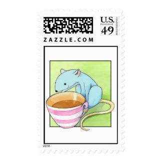 Small Pleasures white Stamp