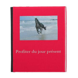 Small pocket Folio IPad image horse iPad Cases