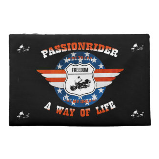 Small pocket of PassionRider voyage Travel Accessory Bag